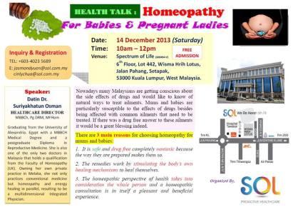 mum&baby homeopathy